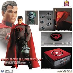 One:12 Collective: Dc - Red Son Superman