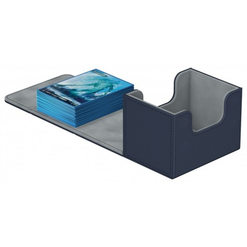 Ultimate Guard - Deck Case 100+ Sidewinder Xenoskin - Blue