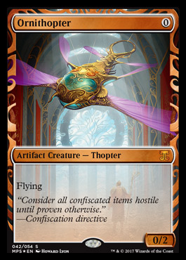 Ornithopter - Foil