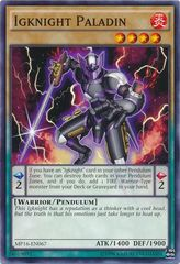 Igknight Paladin - MP16-EN067 - Common - Unlimited Edition