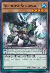 Dinomist Stegosaur - MP16-EN193 - Common - Unlimited Edition