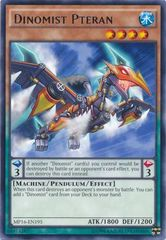 Dinomist Pteran - MP16-EN195 - Rare - Unlimited Edition