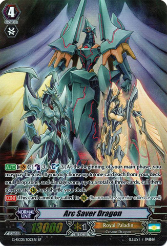 Arc Saver Dragon - G-RC01/S02EN - SP