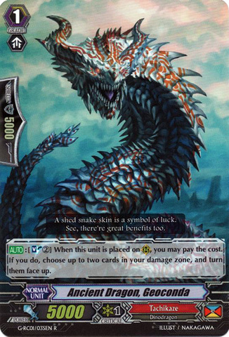 Ancient Dragon, Geoconda - G-RC01/035EN - R