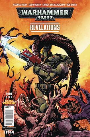 Warhammer 40000 Revelations #1 (Of 4) Cvr B Williamson