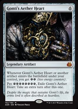 Gonti's Aether Heart - Foil