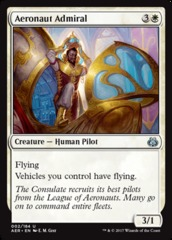 Aeronaut Admiral - Foil on Channel Fireball