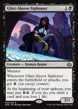 Glint-Sleeve Siphoner - Foil