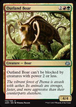 Outland Boar - Foil