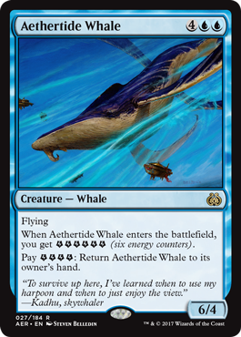 Aethertide Whale - Foil