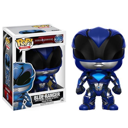 Pop! Movies 399: Power Rangers (2017 Movie) - Blue Ranger