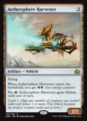 Aethersphere Harvester on Channel Fireball