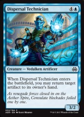 Dispersal Technician on Channel Fireball