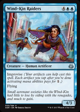 Wind-Kin Raiders - Foil