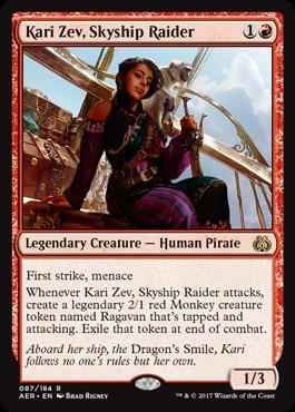 Kari Zev, Skyship Raider - Foil