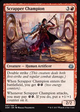 Scrapper Champion - Foil