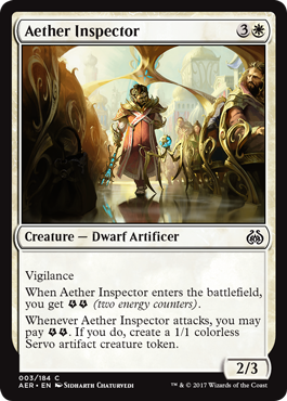 Aether Inspector - Foil