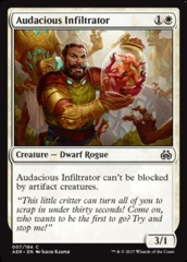 Audacious Infiltrator on Channel Fireball