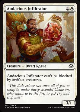 Audacious Infiltrator - Foil
