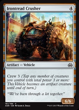 Irontread Crusher - Foil