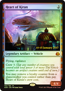 Heart of Kiran - Foil - Prerelease Promo