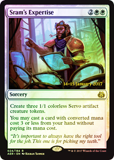 Srams Expertise - Aether Revolt Prerelease Promo