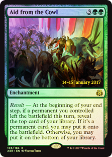 Aid from the Cowl - Foil - Prerelease Promo