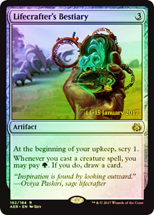 Lifecrafters Bestiary - Foil - Prerelease Promo (Translated)