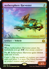 Aethersphere Harvester - Foil - Prerelease Promo on Channel Fireball