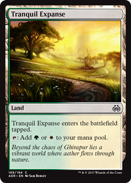 Tranquil Expanse (Aether Revolt) - Planeswalker Deck Exclusive
