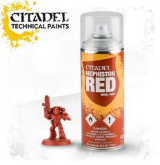 Citadel Primer Spray - Mephiston Red