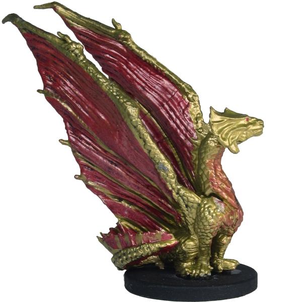 Brass Dragon Wyrmling