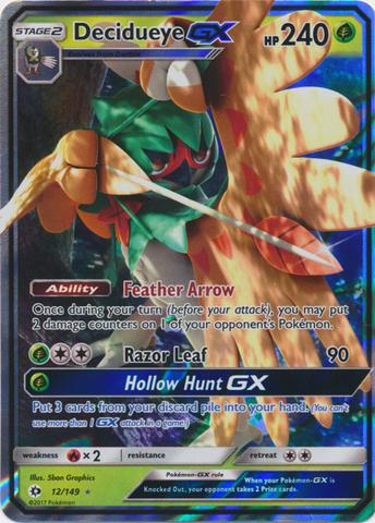 Decidueye GX - 12/149 - Ultra Rare