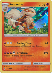 Arcanine - 22/149 - Holo Rare on Channel Fireball