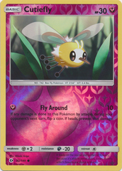 Cutiefly - 92/149 - Common - Reverse Holo