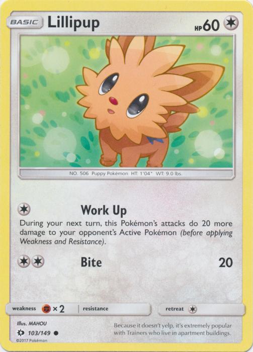 Pokemon Hau 120//149 Sun /& Moon REVERSE HOLO PERFECT MINT