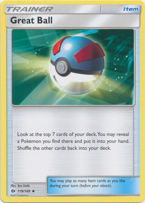 Base Reverse Holo Mint//NM Pokemon Timer Ball 134//149 Sun /& Moon