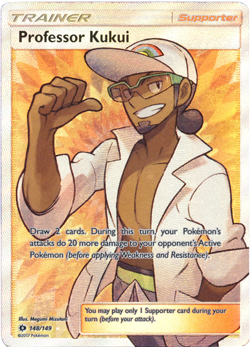 Professor Kukui - 148/149 - Full Art Ultra Rare