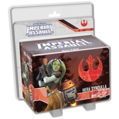 Star Wars: Imperial Assault - Hera Syndulla and C1-10P Ally Pack ( SWI43 )