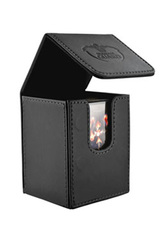 Ultimate Guard - Flip Deck Case 100+ Leatherette Standard Size Black