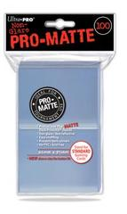Clear - Pro-Matte (Ultra Pro) - Standard Sleeves - 100ct