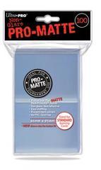 100ct Pro-Matte Clear Standard Deck Protectors