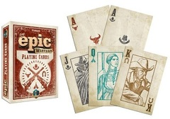 Tiny Epic Western Custom Playing Cards