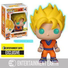Animation Series - #14 - Super Saiyan Goku (Glow) (Entertainment Earth Exclusive) (Dragon Ball Z)