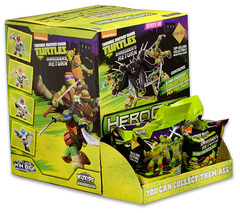 TMNT HeroClix: Shredder's Return Gravity Feed Display