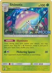 Shiinotic - SM10 - Prerelease Promo (Staff) - SM Black Star Promo