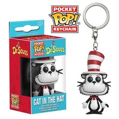 Pocket Pop! Keychain: Dr. Seuss - Cat In The Hat