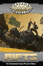 Savage Rifts: The Tomorrow Legion Player'S Guide Softcover