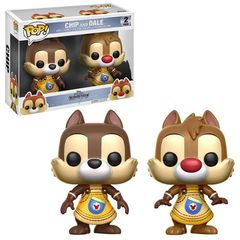 Pop! Disney: Kingdom Hearts 2 Pack - Chip And Dale