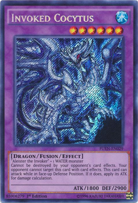 Invoked Cocytus - FUEN-EN029 - Secret Rare - 1st Edition